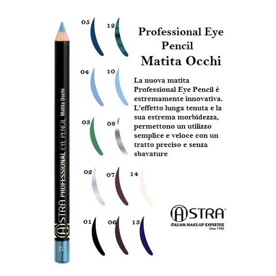 Cosmetica Occhi Matita Eye Astra Make Up