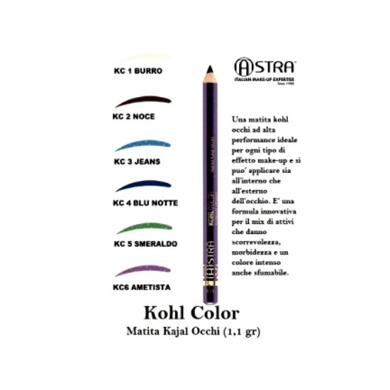 Cosmetica Occhi Matita Kajal Astra Make Up