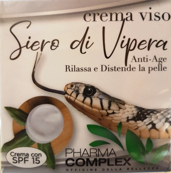 Crema Viso Siero di Vipera Distendente Pharma Complex