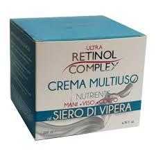 Crema Multiuso Siero di Vipera Crema Retinol Complex