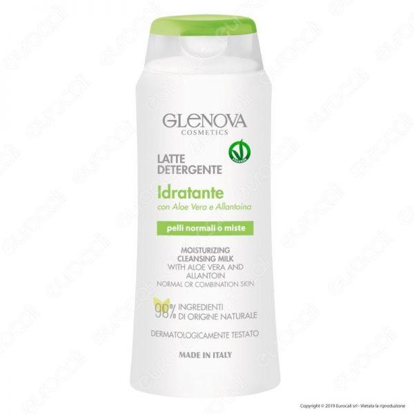 Detergenza viso occhi Latte detergente Idratante Glenova