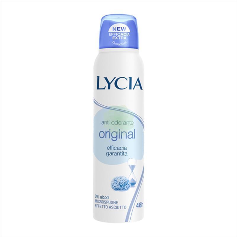 Deodorante Antiodorante Spray Lycia