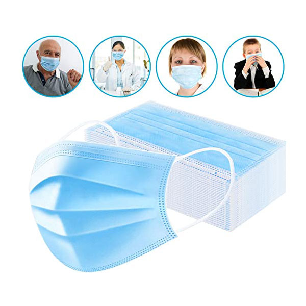 Antibatterico Igienizzante Mascherina 3 Veli Mascherina