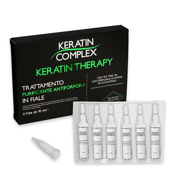 Trattamento Fiale Antiforfora Keratin Complex