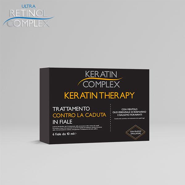 Trattamento Fiale Anti caduta Keratin Complex