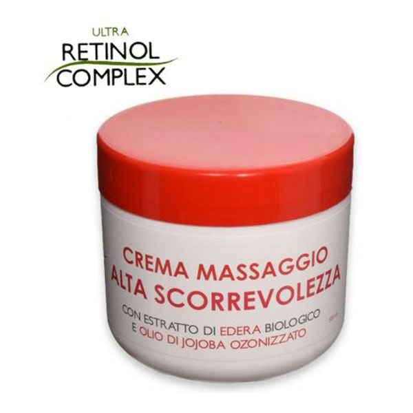 Massaggio Crema Alta scorrevolezza Retinol Complex