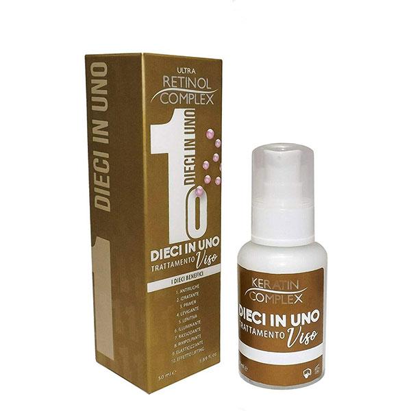 Crema Viso Trattamento 10 in 1 Retinol Complex